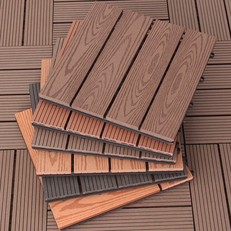 Composite deck tiles, WPC deck tiles, Outdoor deck tiles ...